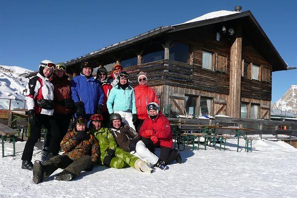Skisafari Dolomiti Huttentocht